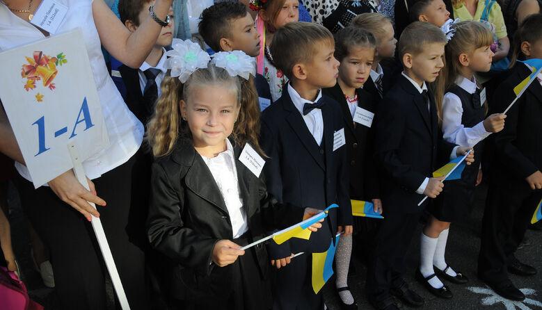 Курс на українізацію: з 1 вересня російськомовні школи почали перехід на державну мову навчання