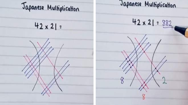 Учителька із Англії показала прості методи множення: корисні відео