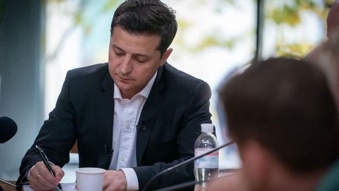 Зеленський затвердив стипендії за ЗНО, премії за олімпіади і гранти на навчання за кордоном