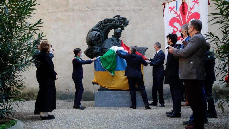 В італійській Флоренції з'явився пам'ятник Тарасу Шевченку