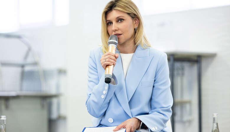 Я хочу, щоб діти із задоволенням йшли у шкільну їдальню, а батьки були впевнені у користі шкільного харчування, – Олена Зеленська