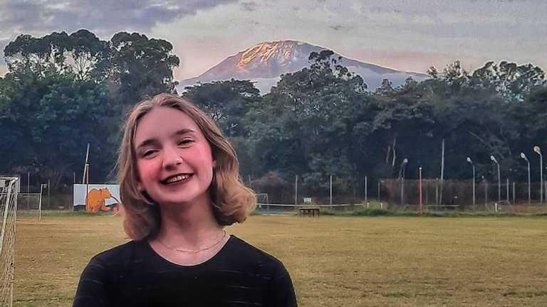 """""""Мам, я в Африці"""": волинська школярка розповіла, як вона навчається та живе в Танзанії"""