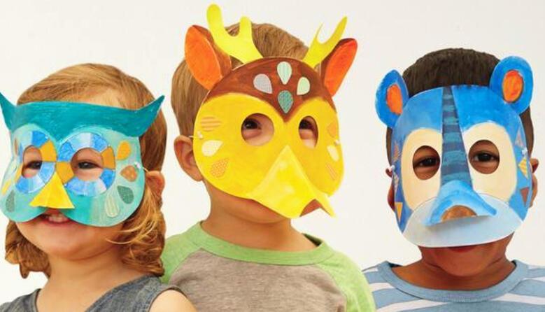 Ефективне використання масок звірів під час освітнього процесу в НУШ