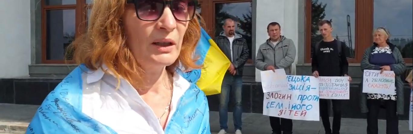 """""""Це злочин проти дітей і педагогів"""": вчителька з Тернопільщини оголосила голодування (ВІДЕО)"""